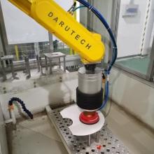 Модульная абразивная станция для обработки аэрокосмических компаундов