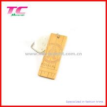 Custom Design Wood Brand Tag