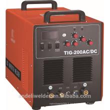 Soldadora portátil profesional de aluminio de MMA 200p AC / DC TIG