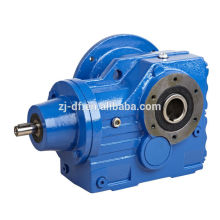 DOFINE S series right angle helical worm gear motor for cement industry