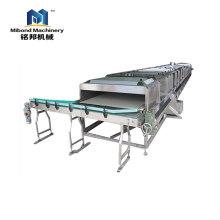 Meilleure qualité de type de pulvérisation Tunnel de refroidissement de bouteilles Équipement de stérilisation de jus de fruits Pulvérisation Pasteurisateur à immersion
