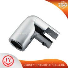 Abrazaderas del conector del tubo de soporte de la pantalla de cristal de la ducha