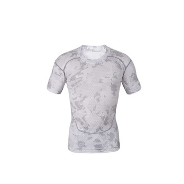 Mens rapide sèches sports wear tshirt Running Fitness