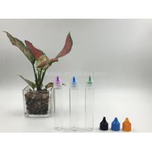 Casquillo normal del color de la botella de aceite de 30ml PETG