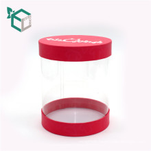 Tube Paper Box with PVC Window