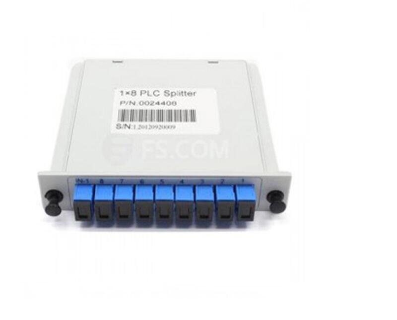 Fiber Optic Plc Splitter 1 8
