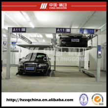 Elevador e unidade mecânicos do estacionamento da estrutura simples para a venda