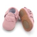 Leder Soft Sole Infant Baby Mokassins Neugeborenen