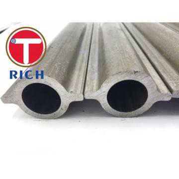 SA192 Seamless Cold Drawn Shaped Carbon Steel Two Fins Pipe Round Boiler Profile Finned Tube