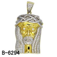 Alta qualidade moda jóias pingente de prata 925
