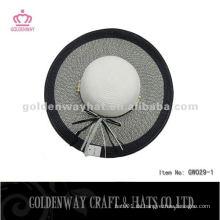 Damen-Mode-Sonne-Hüte preiswerter faltender Sommerhut