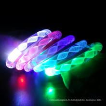 Bracelets lumineux à LED