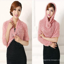 2017 Hot sellingknitted women fashion wholesale polyester multifunctional taiwan magic scarf