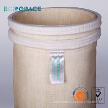 Calderas de carbón Bolsa de recogida y filtración de polvo, Bolsa de filtración PPS