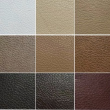Lichee PU Leather for Car Seat Bed Pillow