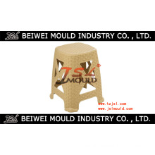 Injection Plastic Rattan Stool Mould Maker