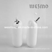 Blanco Utensilios de cocina Olla de aceite de cerámica