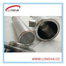 Вэньчжоу Производитель нержавеющая сталь изолированный трубный фильтр