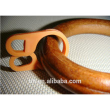 55MM Ebony Curtain Wood Ring For Crafts