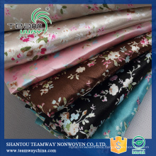 Printing Services Polyester Satin Faric