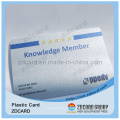 ISO 9001 Plastic Material Business Card