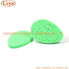 Komprimierte Bad Schwamm rosa und grün Farbe Optional