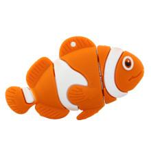 Novos produtos Adorável Cartoon Fish USB Stick