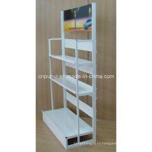 3 Tier Металлическая напольная стойка для масляного поддона (PHY3005)