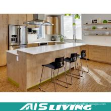 Muebles económicos de los gabinetes de la cocina de la melamina (AIS-K349)