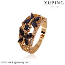 11206- China Wholesale Xuping Fashion 18K plated gold Woman Ring