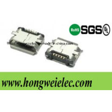 5 Pinb Type Smtmicro USB Connector
