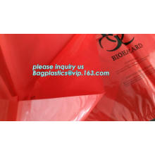 plastic biohazard medical waste bag, Biohazard Bags, Medical Waste Bags, Clinical Waste Bags LDPE medical plastic ziplock bag