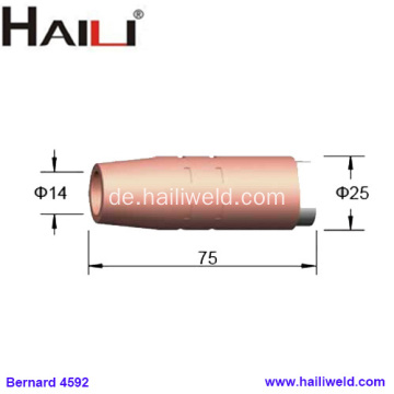 4592 Tapered Copper Nozzle 9/16 für Bernard