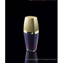 Luxus Kosmetik Paket Acryl Lotion Flasche mit Race Cap
