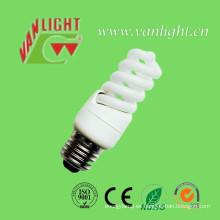 T3 Total espiral CFL, lámpara ahorro de energía