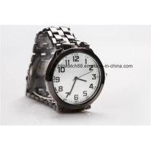 Logotipo barato do costume do relógio do presente da promoção