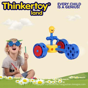 Plastic Creative Maginetic DIY Baustein Spielzeug