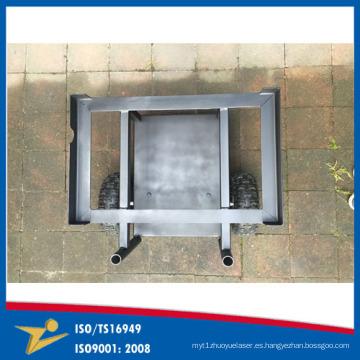 Soldadura Heavy Metla Servicio de Fabricación de Metal Carrito Hecho en China