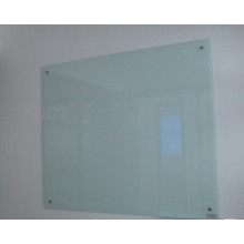 Tempered Glass White Board for Office Using