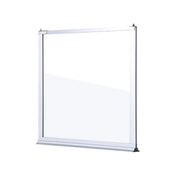 Direct Selling Stationary Type Fire Proof Glass Smoke Proof Ceiling Screen