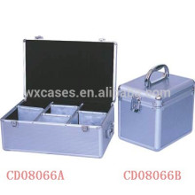 CD de alta calidad 390 y 120 discos aluminio CD caso ventas por mayor de China fabricante