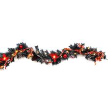 6 предварительно освещенный СИД ft света оформленные искусственные Новогодние гирлянды