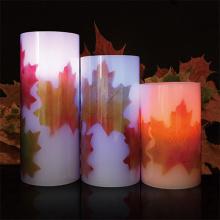 Wetterfeste Outdoor-Farbwechsel LED Kerzen set
