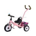 China Hersteller fördern billig Preis Baby Kinderwagen / Dreirad Baby Dreirad mit Training Griff Bar / Baby Kinderwagen Dreirad