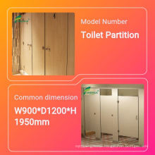 13 mm Waterproof HPL Compact board for toilet partitions Easy to clean