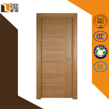 Günstige Großhandel MDF Türen Foshan, flache Teak Holz Haupteingang Designs, PVC laminiert billig MDF Tür