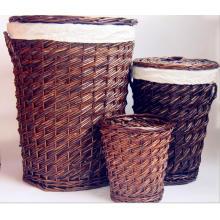 (BC-ST1094) Qualitäts-handgemachter Weide-Wäsche-Korb