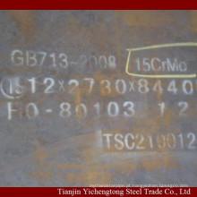 Fornecedor atacado !!! Placa de aço de liga 15CrMo laminada a alta temperatura / chapa de aço