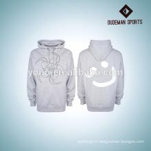 Hoodies vierges de haute qualité / sweat-shirt avec l'impression faite sur commande par fabrication