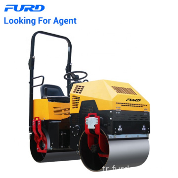 EU Quality 1 Ton Mini Steel Drum Vibratory Road Roller EU Quality 1 Ton Mini Steel Drum Vibratory Road Roller FYL-880